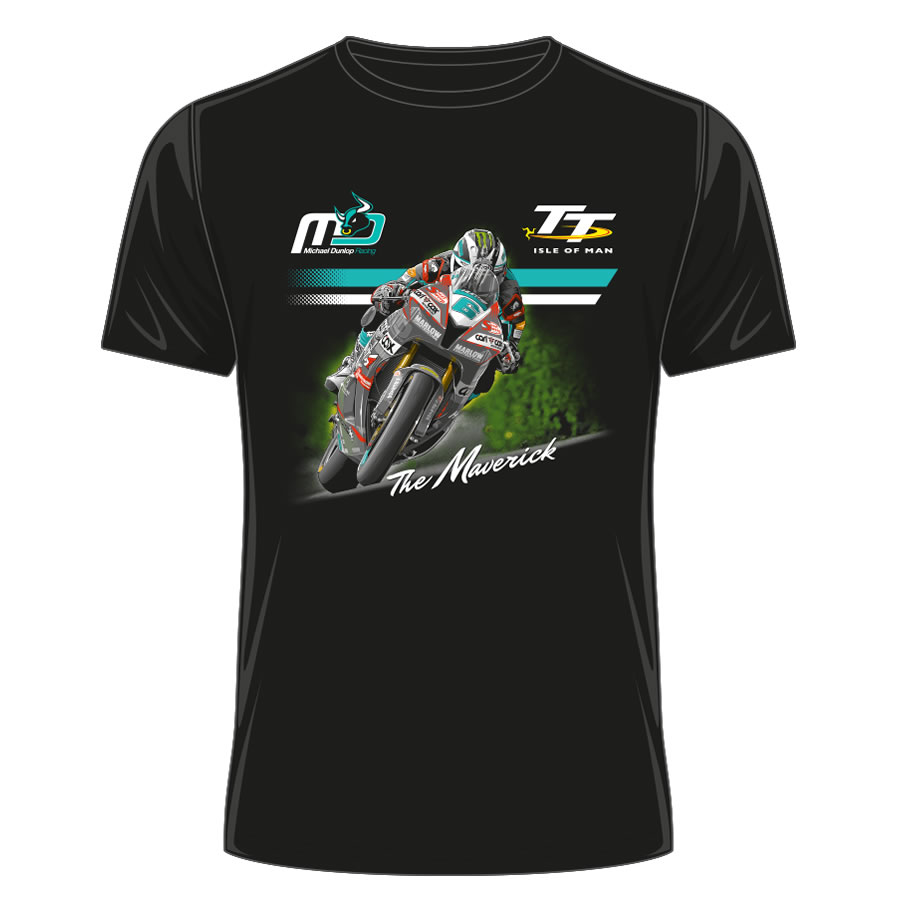 19ATS30 - Michael Dunlop Black T-Shirt